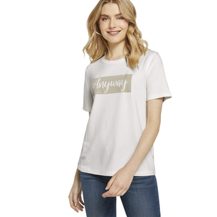 Product TOM TAILOR T-Shirt με Στάμπα 1021049 base image