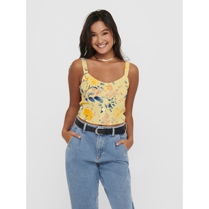 Product ONLY  Cropped Printed Top 15201511 base image