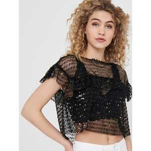 Product ONLY Detailed Sequins Top 15204169 base image