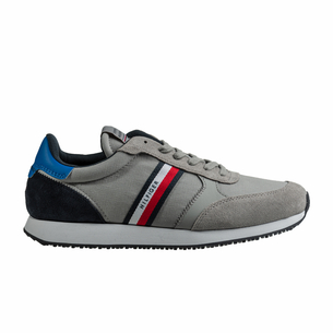 Product SNEAKERS ΑΝΔΡΙΚΟ TOMMY HILFIGER GRΕΥ base image