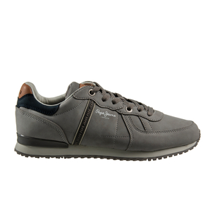 Product SNEAKERS ΑΝΔΡΙΚΟ PEPE-JEANS GRΕΥ base image