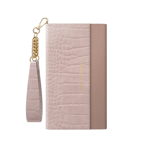 Product IDEAL OF SWEDEN Θήκη πορτοφόλι iPhone 12 Pro Max Signature Clutch Misty Rose Croco IDSCSS20-I2067-211 base image