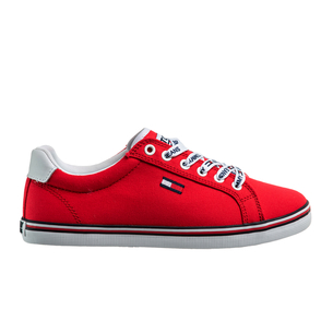 Product SNEAKERS TOMMY HILFIGER ΚΟΚΚΙΝΟ base image