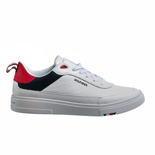 Product SNEAKERS ΑΝΔΡΙΚΟ TOMMY HILFIGER ΛΕΥΚΟ base image