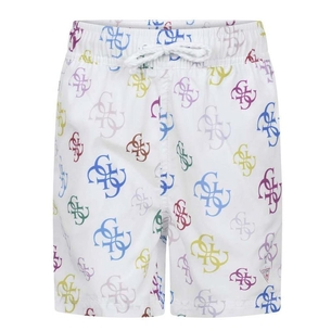 Product Guess All Over Print Swimshorts. L02Z02TEL60 base image