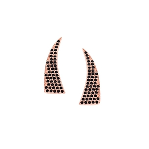 Product Σκουλαρίκια Senza Silver 925 Rose Gold Plated base image