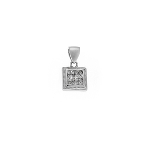 Product Μοτίφ SENZA Silver Rhodium Plated base image