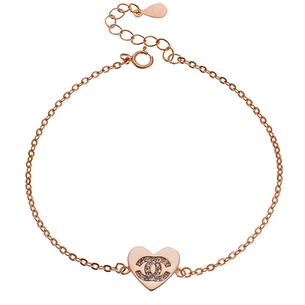 Product Βραχιόλι SENZA Silver Rose Gold Plated base image