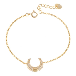 Product Βραχιόλι SENZA Silver 925 Gold Plated base image