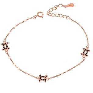 Product Βραχιόλι SENZA Silver 925 Rose Gold Plated base image