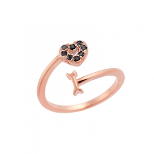 Product Δαχτυλίδι Chevalier Senza Silver 925  Rose Gold Plated base image